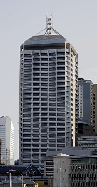 111 George Street - View from South Brisbane, 2009