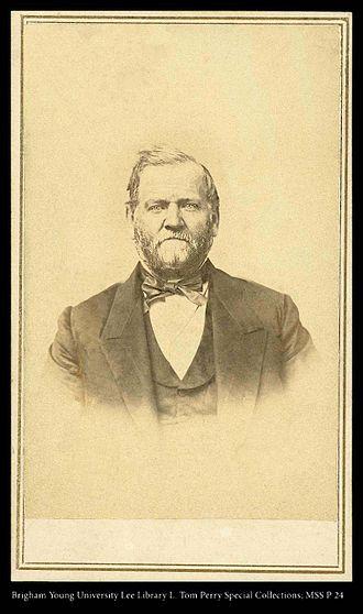 Orson Hyde - Orson Hyde around 1862