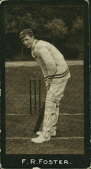 Frank Foster (cricketer) - Image: 1193358 Frank Foster