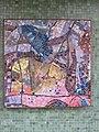 1210 Autokaderstraße 3-7 Tomaschekstraße 44 Stg 12 - Mosaik-Hauszeichen Farbige Komposition von Anton Karl Wolf 1968 IMG 0935.jpg