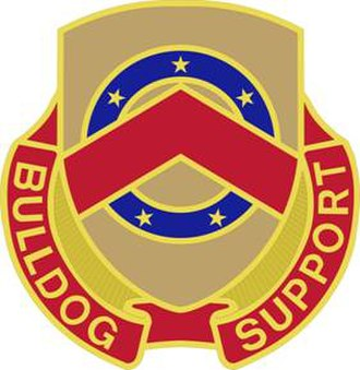 125th Brigade Support Battalion (United States) - Image: 125 Spt Bn DUI