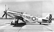 126th Fighter Squadron - North American F-51D-30-NA Mustang 44-74536
