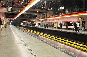 Střížkov (Prague Metro) - Střížkov station
