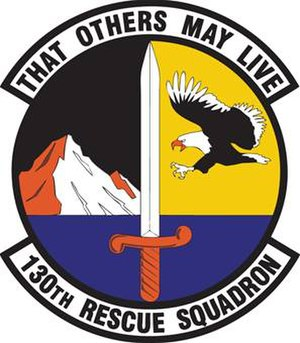 130th Rescue Squadron - Image: 130th Rescue Squadron emblem