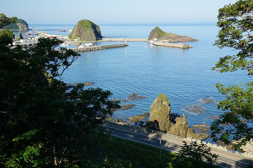 Utoro Japan  city photos : ... from National Shiretoko Campsite Utoro Shari Hokkaido Japan03o