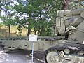 152 mm gun M1935 (Br-2) at Sevastopol Heroic Defence and Eliberation Museum on Sapun-gora (back part).jpg