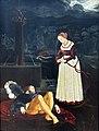 1530 Baldung Pyramus und Thisbe Gemäldegalerie Kat.Nr. 1875.jpg
