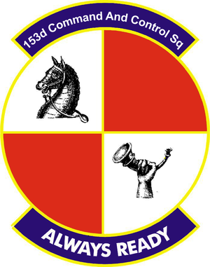153d Command and Control Squadron - 153d Command and Control Squadron emblem