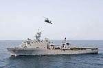 15th MEU Marines assigned to the USS Pearl Harbor perform VBSS aboard the Lewis B. Puller 170908-N-UK248-209.jpg