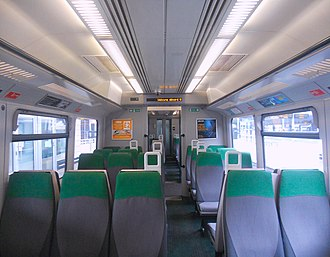 British Rail Class 166 - Image: 166205 Standard Class Interior