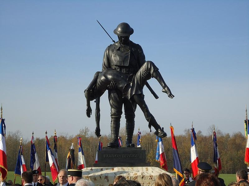 File:167th Infantry, Alabama, 4th Alabama Infantry, WWI Memorial, France.JPG