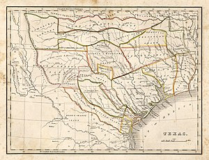 Perry-Castañeda Library Map Collection - Map of Texas, by Thomas Gamaliel Bradford, 1835., from the Perry-Castañeda Library Map Collection.