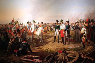 Kingdom of Prussia - Frederick III of Prussia, Alexander I of Russia and Francis II of Austria after the battle of Leipzig, 1813