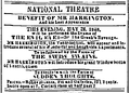 1848 Harrington NationalTheatre BostonDailyAtlas May26.png
