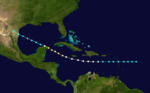 1857 Atlantic hurricane 4 track.png