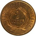 1864 Large Motto Two-cent piece reverse.jpg