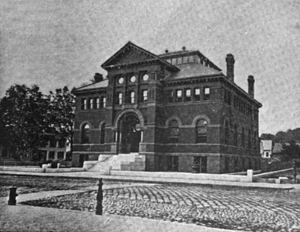 1891 Fitchburg public library Massachusetts