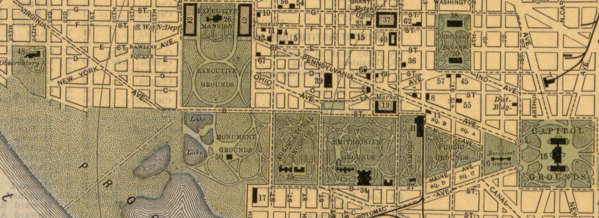 image about Printable Map of Washington Dc Mall identify Countrywide Shopping mall - Wikipedia
