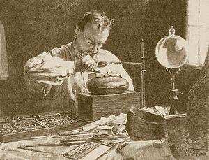 1903 Holzschneider