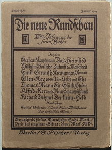 brown, aged book cover with German lettering