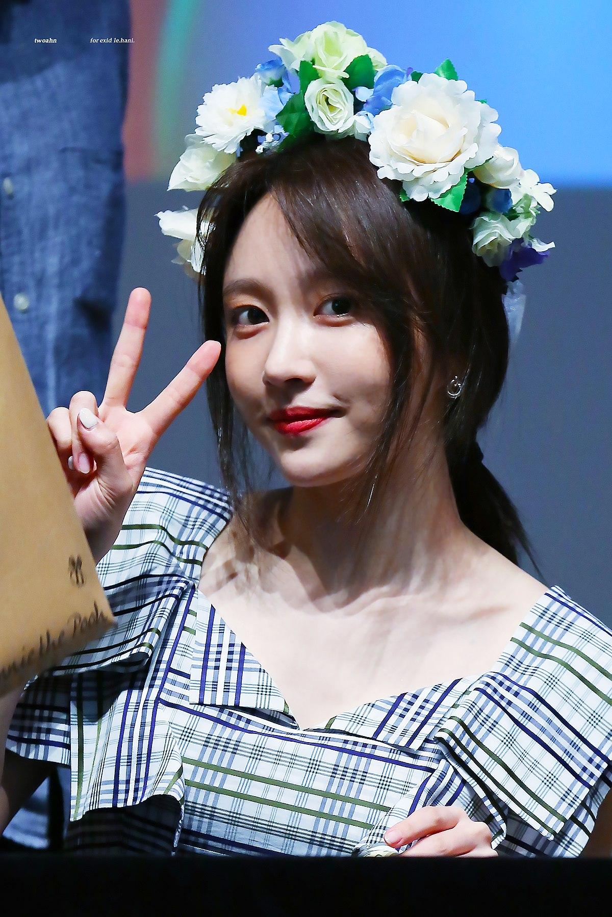 韩国歌手_哈妮 - 维基百科,自由的百科全书