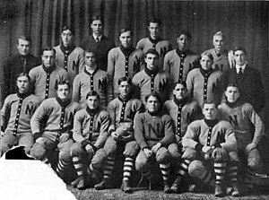 1906 Nebraska Cornhuskers football team - Image: 1906 Nebraska Cornhuskers football team