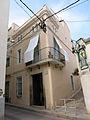 190 Casa a la riera dels Lledoners, 34, cantonada Escala del Sant Crist (Canet de Mar).JPG