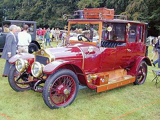 Cunard (coachbuilder) - Landaulette 1913  Minerva chassis