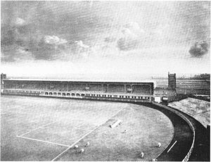 Old Stadion (Amsterdam) - The Old Stadion in 1914