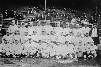 1916 Boston Red Sox season - The 1916 Boston Red Sox. Babe Ruth is bottom row, 4th from left.