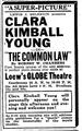 1916 GlobeTheatre BostonGlobe Oct2.png