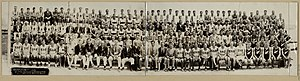 Rowing at the 1932 Summer Olympics - Image: 1932 Summer Olympics rowing team photo
