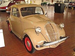"""Fiat 500 """"Topolino"""" - Image: 1936Fiat 500Coupe Topolino"""