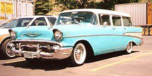 1957 Chevrolet - 1957 Chevrolet Bel Air Townsman 4-door Station Wagon
