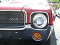 1969 AMC AMX red 2010-MD-headlight.jpg