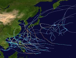 1970 Pacific typhoon season typhoon season in the Pacific Ocean