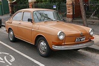 Volkswagen Type 3 - 1970 Vokswagen 1600 TL Fastback Sedan