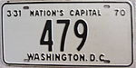 1970 Washington, D.C. low number license plate.jpg