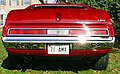 1971 Javelin AMX red tail Maryland.jpg