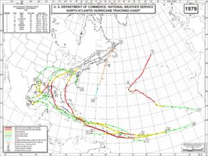 Calendario Del 1979.Temporada De Huracanes En El Atlantico De 1979 Wikipedia