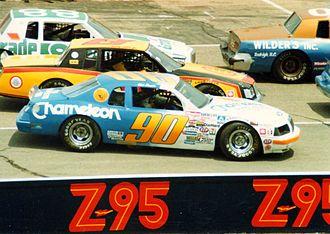 1984 NASCAR Winston Cup Series - Image: 1984NASCARCars