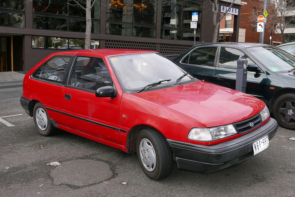 Hyundai 1990 models