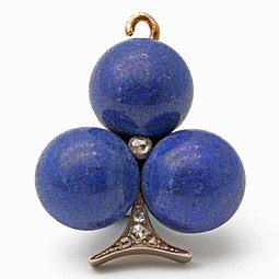 19th Century lapis lazuli and diamond pendant.jpg