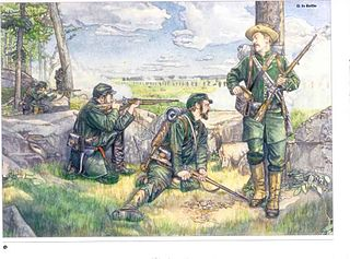 1st Georgia Sharpshooter Battalion Military unit