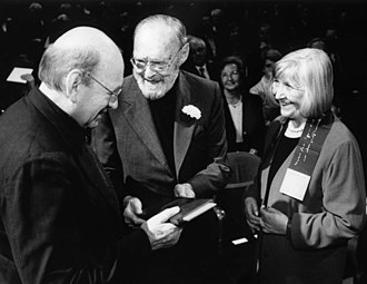 Bernd and Hilla Becher - Bernd (left) and Hilla Becher  (Erasmus Prize 2002)