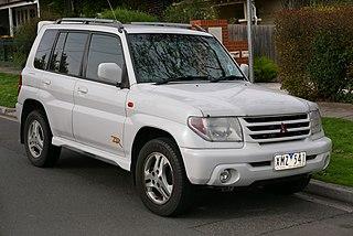 Mitsubishi Pajero iO Motor vehicle