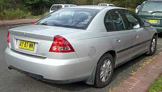 Holden Commodore (VY) - Holden Commodore (VY II) Executive sedan