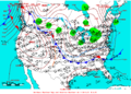 2005-01-21 Surface Weather Map NOAA.png