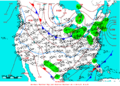 2005-02-25 Surface Weather Map NOAA.png
