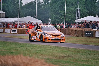 Matt Neal - Neal demonstrates his Honda Integra at the 2006 Goodwood Festival of Speed.